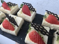 Mini cheesecake s ovocem